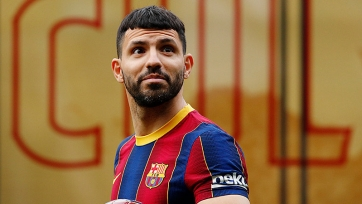 Агуэро отказался в «Барселоне» от 10-го игрового номера