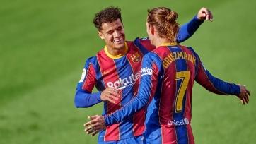 «Барселона» попросит Коутиньо и Гризманна о снижении зарплаты