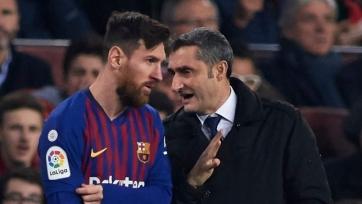 Вальверде – об отношениях с лидерами «Барселоны» во главе с Месси: «О таких вещах говорить нельзя»
