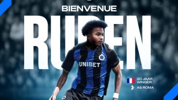 «Рома» отдала полузащитника в аренду «Брюгге»
