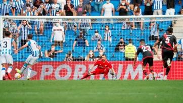 «Реал Сосьедад» взял верх над «Райо Вальекано»