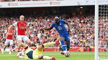 «Челси» разобрался с «Арсеналом», Лукаку отметился голом