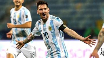 Оглашен состав сборной Аргентины на ближайшие матчи отбора на ЧМ-2022