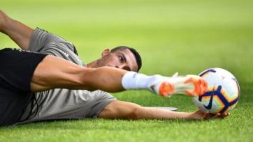 Роналду вынуждено покинул тренировку «Ювентуса»