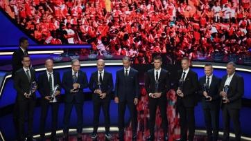 Врачи, спасшие жизнь Кристиану Эриксену, получили награду от президента УЕФА