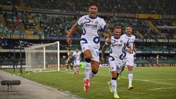 «Верона» – «Интер» – 1:3. Обзор матча и видео голов