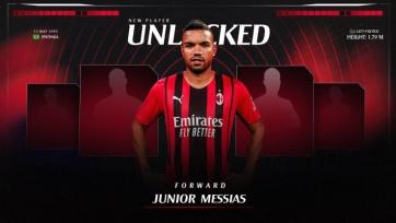 «Милан» арендовал 30-летнего форварда