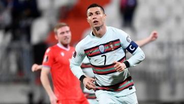 Роналду установил мировой рекорд по голам за сборную