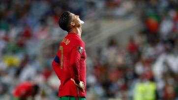 Роналду пропустит ближайший матч сборной Португалии
