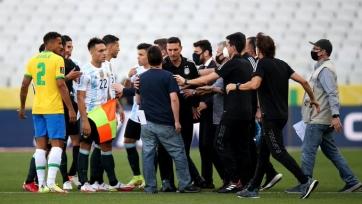 Прервана игра отбора на ЧМ-2022 Бразилия - Аргентина