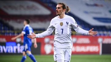 Гризманн сравнялся с Платини по голам за сборную Франции