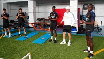 Камавинга провел первую тренировку в «Реале»