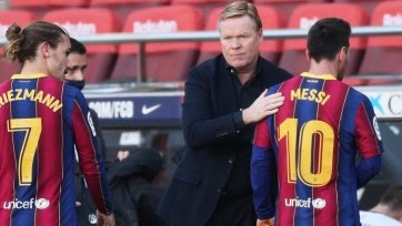 Куман: «В прессинге «Барселона» стала лучше»