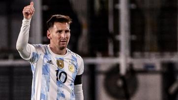 Месси отметился 7-м хет-триком за сборную Аргентины