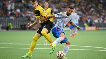 «МЮ» завершил игру с «Янг Бойз» лишь с двумя ударами по воротам соперника