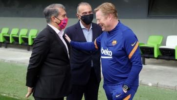 Куман и Лапорта после матча с «Баварией» провели напряженную встречу