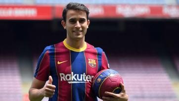 Эрик Гарсия: «Сейчас хорошее время, чтобы играть за «Барселону»