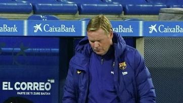 Куман ответил на вопрос о возможном уходе из «Барселоны»