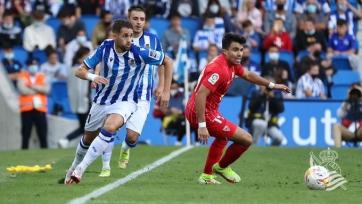 «Реал Сосьедад» прервал 3-матчевую победную серию, поделив очки с «Севильей»