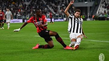 «Ювентус» и «Милан» поделили очки