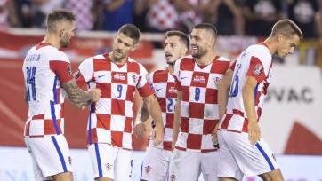 Хорваты определились с составом на октябрьские матчи квалификации ЧМ-2022