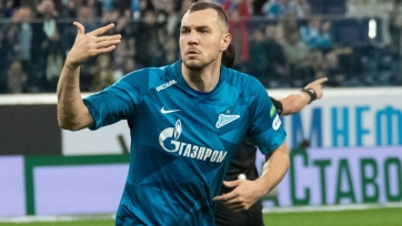 Дубль Дзюбы помог «Зениту» уверенно переиграть «Рубин»