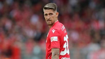 Хавбек «Байера» узнал наказание за удаление после грубого фола на игроке «Штутгарта»