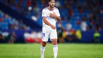 Асенсио недоволен своим положением в «Реале»