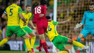 «Норвич» - «Ливерпуль» - 0:3. Обзор матча и видео голов