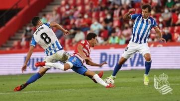 «Реал Сосьедад» переиграл «Гранаду», «Бетис» одолел «Осасуну»