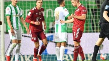 «Бавария» уверенно разобралась с «Гройтер Фюртом»
