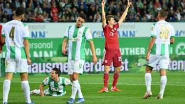 «Гройтер Фюрт» – «Бавария» – 1:3. Обзор матча и видео голов