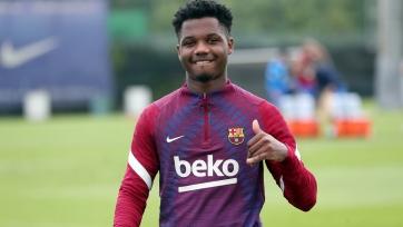 «Барселона» анонсировала возвращение Фати