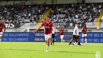 «Милан» вырвал победу у «Специи»