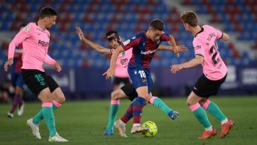 «Барселона» – «Леванте». 26.09.2021. Где смотреть онлайн трансляцию матча