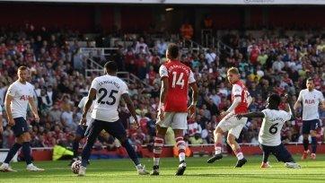 «Арсенал» обыграл «Тоттенхэм» в лондонском дерби