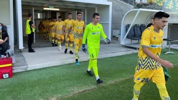 «Кайрат» U19 сыграл вничью с одногодками из АПОЭЛа в Юношеской лиге УЕФА