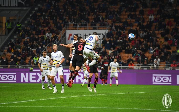 «Милан» – «Верона» – 3:2. Обзор матча и видео голов