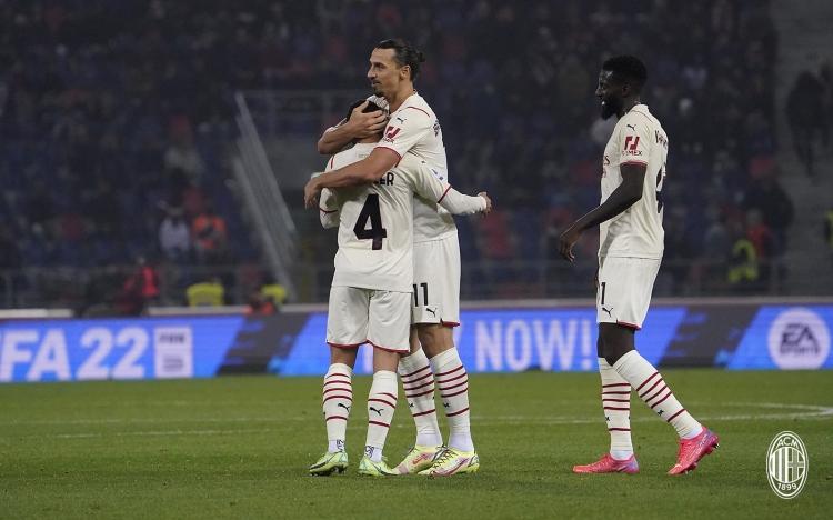 «Болонья» – «Милан» – 2:4. Обзор матча и видео голов