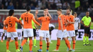 Опубликован состав сборной Нидерландов на октябрьские матчи