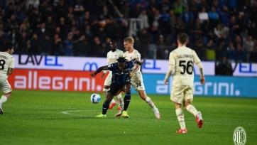 «Милан» на выезде справился с «Аталантой»