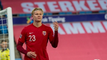 Холанд не поможет сборной Норвегии в ближайших матчах