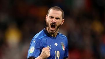 Бонуччи вышел на седьмое место по количеству матчей в сборной Италии