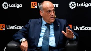 Президент Ла Лиги: «Цена телеправ на турнир не зависит от имен»