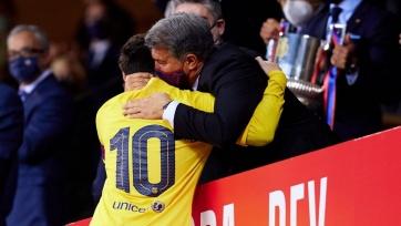 Лапорта хотел, чтобы Месси играл за «Барселону» бесплатно