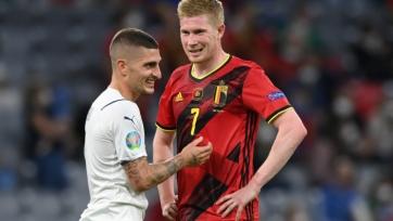 Италия - Бельгия. 10.10.2021. Где смотреть онлайн трансляцию матча