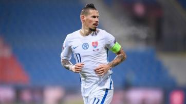Гамшик травмировался в поединке против Хорватии