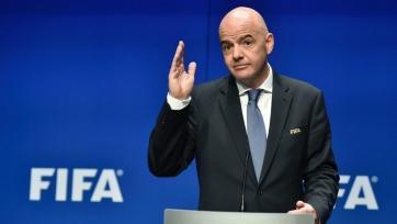 Президент ФИФА выступил за проведение чемпионата мира каждые 2 года