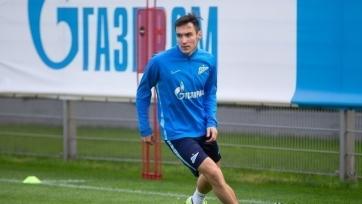Караваев вернулся в общую группу «Зенита»