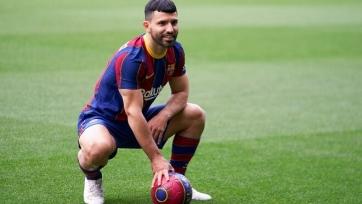 Агуэро отметился голом в спарринге «Барселоны»